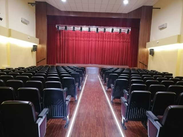Finalizan las obras de rehabilitación del Teatro Ginés Rosa del Centro Sociocultural La Cárcel, Foto 5