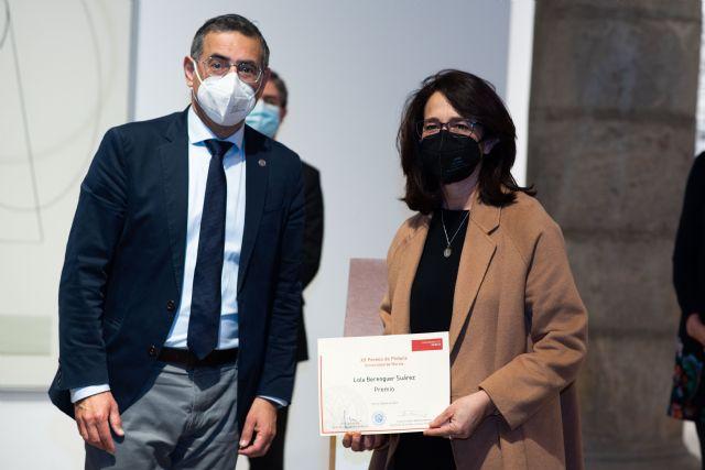 La Universidad de Murcia hace entrega de su vigésimo premio de pintura a la artista Lola Berenguer - 1, Foto 1