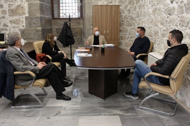 Ayuntamiento, Junta de Cofradías y Hostecar avanzan en un convenio para una mayor promoción de la Semana Santa - 1, Foto 1
