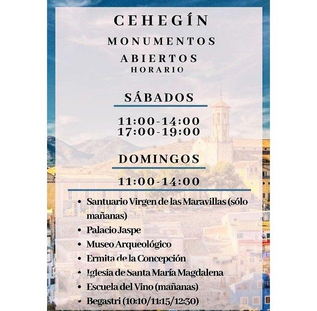 Los monumentos de Cehegín se reabren a la visita a partir de este fin de semana - 1, Foto 1
