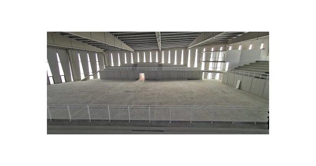 Abierto el periodo de licitación para la pavimentación de la pista del nuevo Pabellón de Deportes - 1, Foto 1