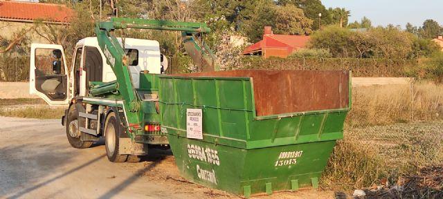 El Ayuntamiento de Molina de Segura pone en marcha un proyecto piloto municipal de recogida de poda domiciliaria en contenedor - 1, Foto 1
