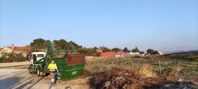 El Ayuntamiento de Molina de Segura pone en marcha un proyecto piloto municipal de recogida de poda domiciliaria en contenedor - 2, Foto 2