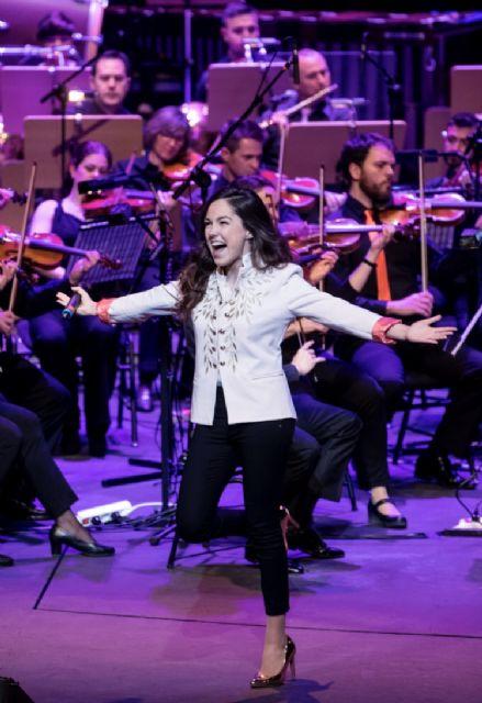 Cultura emite el 'Concierto en familia' de María Parrado con la Orquesta Sinfónica de la Región de Murcia para disfrutarlo desde el hogar - 1, Foto 1