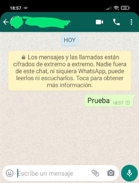 Los mensajes no llegan en la app WhatsApp , Foto 1