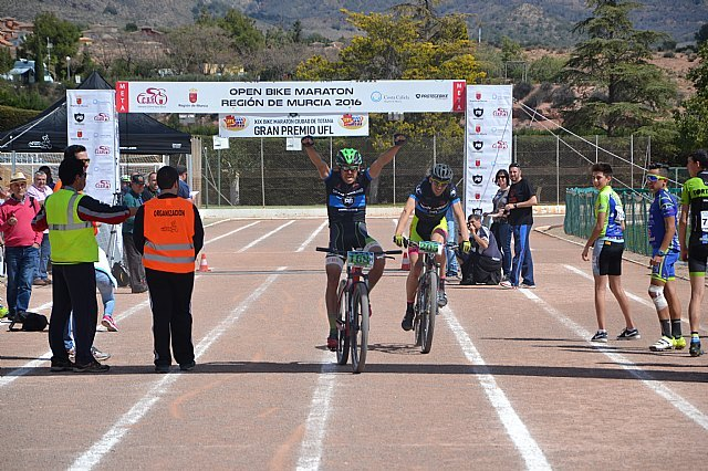 Espuña welcomes more than 300 cyclists Bike City Marathon Totana