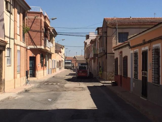 They patched several streets of the neighborhood of the Rambla of Los Arcos that presented great deterioration, Foto 1