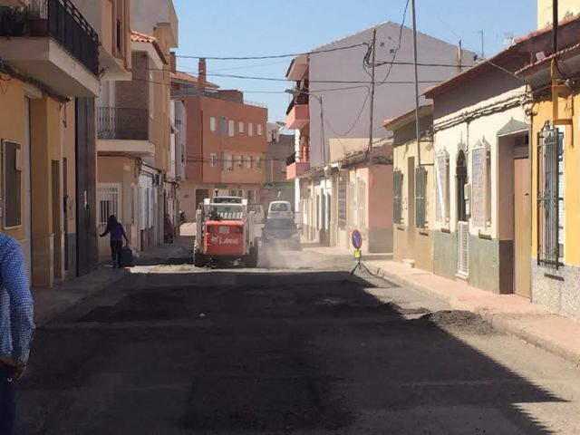 They patched several streets of the neighborhood of the Rambla of Los Arcos that presented great deterioration, Foto 3