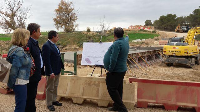 La ampliación de la carretera de Zúñiga permitirá mejorar la seguridad vial del principal acceso a esta población lorquina - 1, Foto 1
