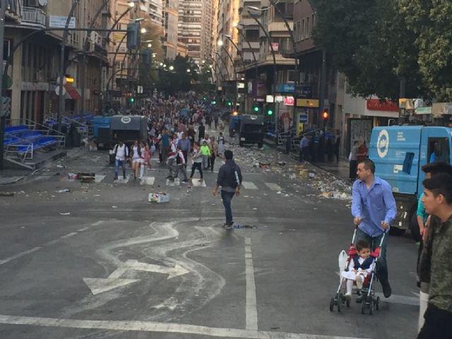 El Servicio de Limpieza Viaria recoge durante el Día del Bando de la Huerta 87 toneladas de residuos - 1, Foto 1