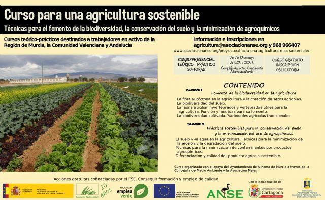 Curso sobre agricultura sostenible y fomento de la biodiversidad, Foto 1