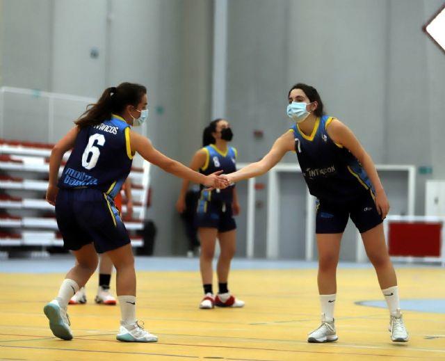 El baloncesto femenino consolida el liderazgo de Molina Basket - 1, Foto 1