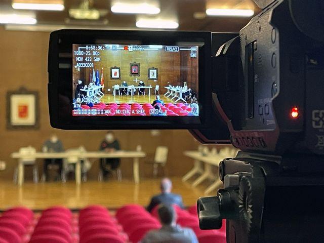 Los plenos del Ayuntamiento de La Unión vuelven a la presencialidad el próximo miércoles - 1, Foto 1
