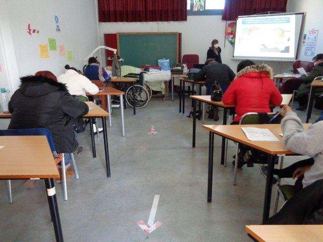 Los alumnos del PMEF Atención Sociosanitaria a Personas Dependientes en Instituciones Sociales complementan su formación con un Curso de Gerontología, Foto 4