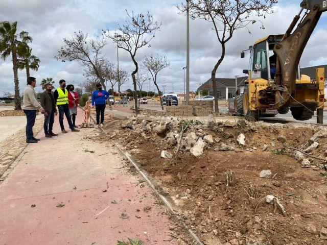 Obras de canalización de aguas pluviales mediante realización de vados en varios puntos de los cascos urbanos del municipio - 1, Foto 1