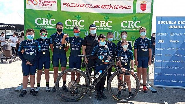 [Muy buenos resultados de la Escuela de ciclismo de Terra Sport Cycling en Jumilla