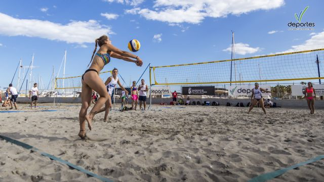 83 equipos participaron en el primer Torneo Villananitos Beach Volleyball - 1, Foto 1