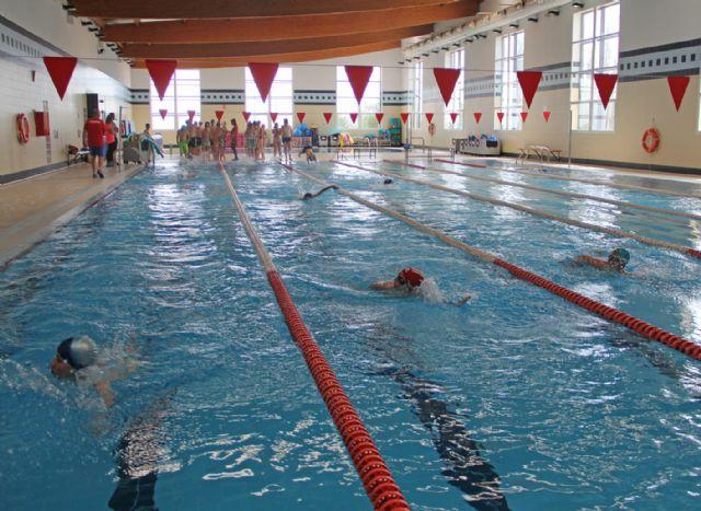 400 niños participan en el programa de natación escolar en Puerto Lumbreras - 2, Foto 2