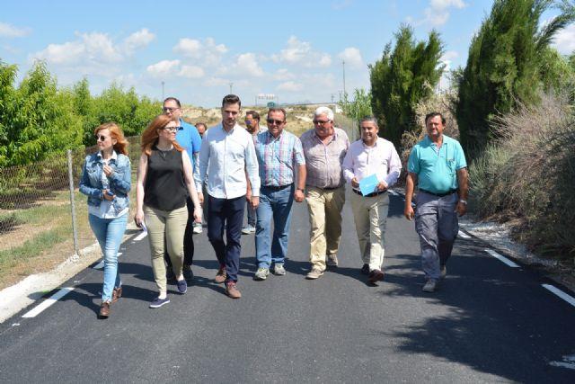 Jesús Cano: La inversión en el camino rural del Tamarit demuestra el compromiso del Gobierno del PP con los agricultores - 1, Foto 1