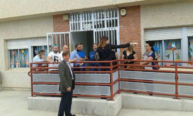 La Concejalía de Educación invertirá cerca de 60.000€ en las reformas del CEIP Antonio Delgado Dorrego de Sangonera la Verde - 2, Foto 2