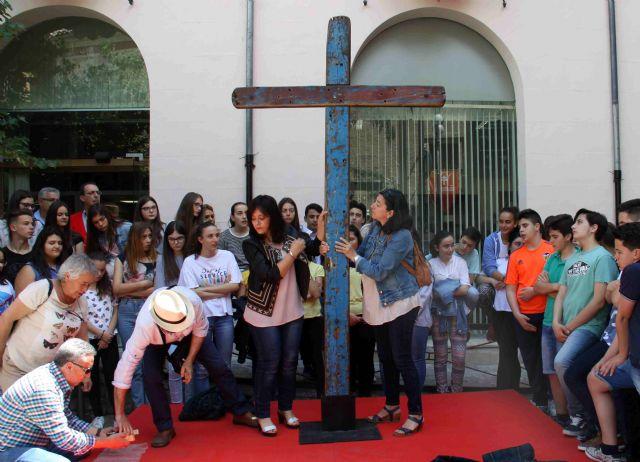 La Cruz de Lampedusa, símbolo de solidaridad y unión entre pueblos, llega a Caravaca - 2, Foto 2
