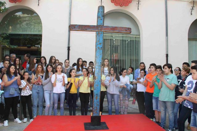 La Cruz de Lampedusa, símbolo de solidaridad y unión entre pueblos, llega a Caravaca - 4, Foto 4