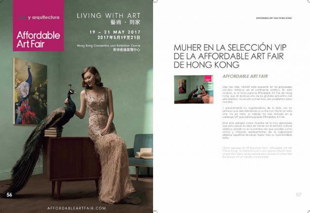 Los MUHER presentan su propuesta artística en Hong Kong con motivo de la Affordable Art Fair