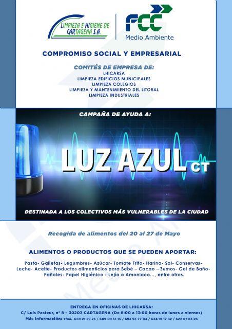Campaña de recogida de alimentos en favor de Luz Azul Cartagena - 2, Foto 2