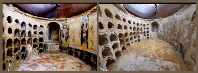 MC denuncia el mal estado de la Muralla Púnica y la pérdida de las pinturas de la cripta de San José - 1, Foto 1