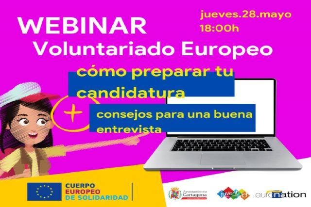 Juventud organiza una webinar para ayudar a jóvenes a hacer el CV Europass y enfrentarse a una entrevista online - 1, Foto 1