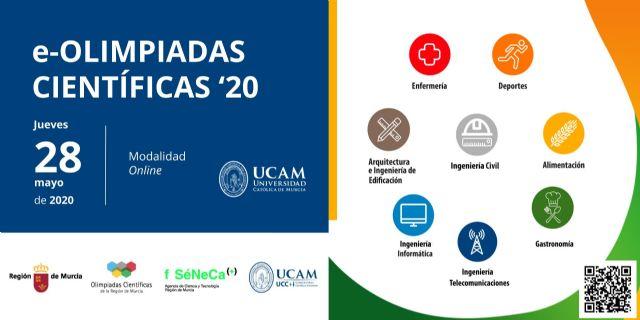 La UCAM convoca sus I Olimpiadas Científicas On line - 1, Foto 1