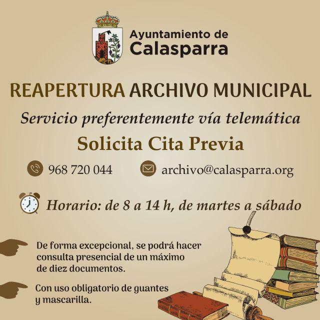 La Biblioteca y el Archivo Municipal han abierto de nuevo sus puertas en Calasparra - 2, Foto 2