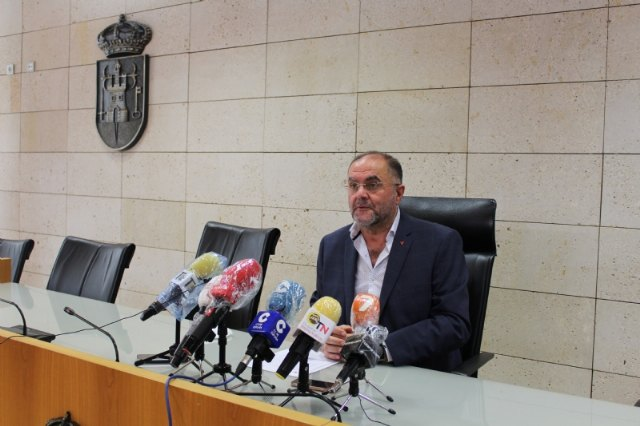 The mayor announces that the Government of Murcia will propose to the Ministry of Health that the Region go to phase 2, with the exception of Totana when accounting for 6 of the last 11 cases by COVID-19