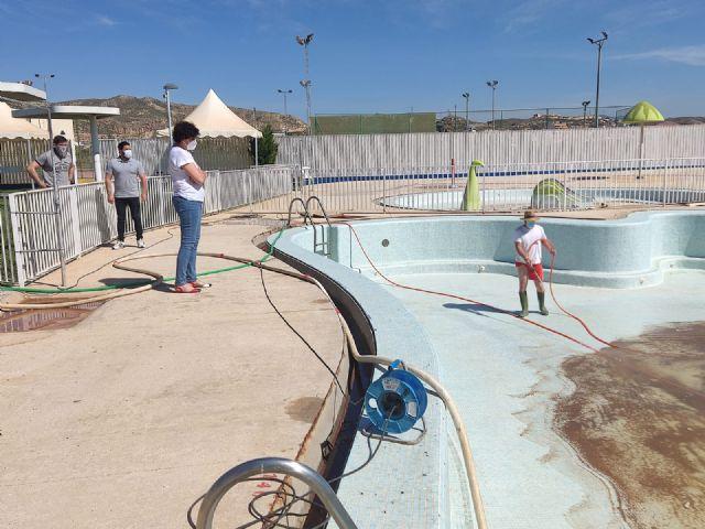 Puerto Lumbreras prepara sus piscinas de verano para la temporada estival, con todas las medidas de seguridad frente a la COVID-19 - 1, Foto 1