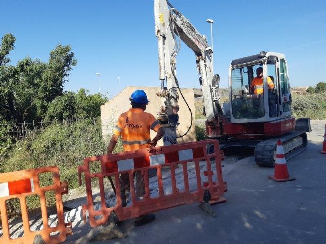 [Comienzan las obras para instalar una tubería de distribución de agua potable en el Camino Los Sifones