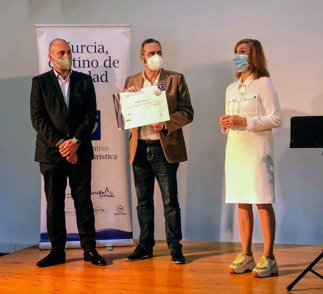 Murcia recibe en FITUR el premio de primer finalista en la Mejor Gestión SICTED 2020 - 3, Foto 3