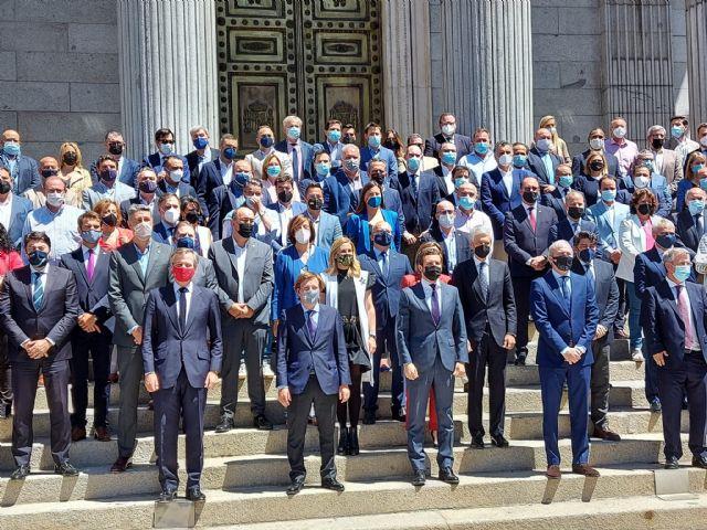 El PSOE hace el ridículo al confundir como actual una foto de Ballesta en Madrid del año pasado - 1, Foto 1