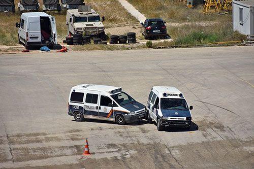 VII Jornadas de Conducción de Seguridad de la Policía Nacional en la base aérea de Alcantarilla - 1, Foto 1
