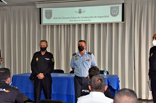 VII Jornadas de Conducción de Seguridad de la Policía Nacional en la base aérea de Alcantarilla - 2, Foto 2