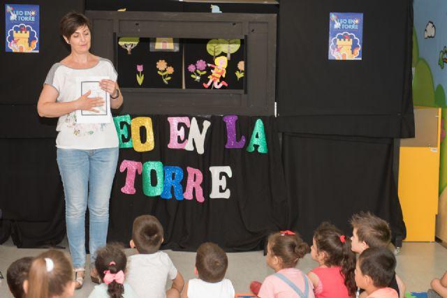 El proyecto Mochilas viajeras del CEIP Bahía incentiva la lectura compartida entre generaciones - 1, Foto 1
