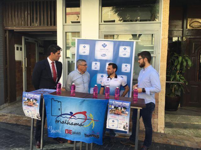 La Fundación de Trabajadores de ELPOZO patrocina y da nombre al Trofeo del IX Triatlón Popular Villa de Alhama y de la Mujer por segundo año consecutivo, Foto 1