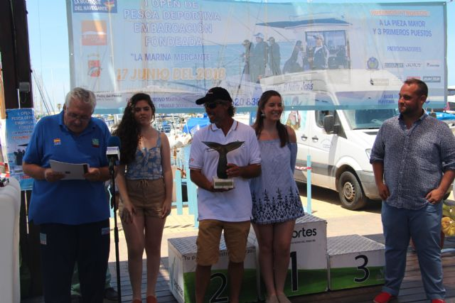 El primer Open de Pesca en embarcación fondeada 'La Marina Mercante' congrega a 30 participantes - 2, Foto 2