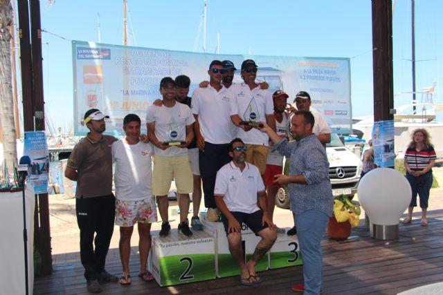 El primer Open de Pesca en embarcación fondeada 'La Marina Mercante' congrega a 30 participantes - 3, Foto 3