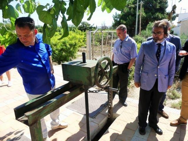 La Comunidad realiza obras de mejora en el camino del Olivar y Acequia Mayor de Alguazas - 1, Foto 1