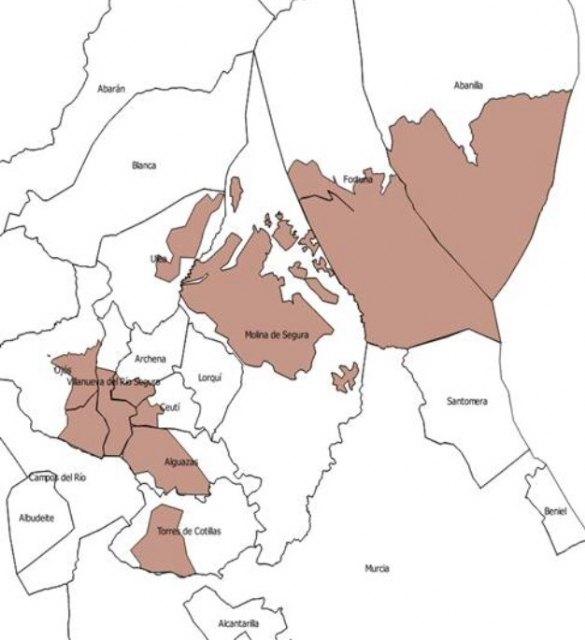 magen de las áreas en las que entra en vigor la Orden de Comarca de Emergencia Temporal por alta proliferación de conejo, Foto 1