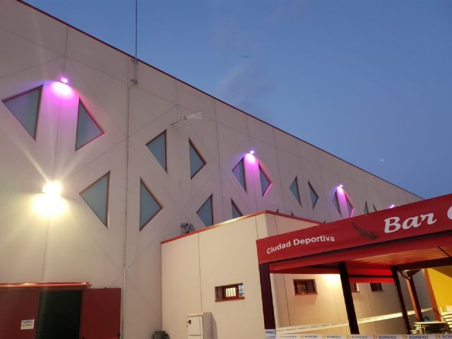 Los dos nuevos pabellones de la Ciudad Deportiva El Romeral se iluminarán de morado el próximo martes, 23 de junio, Día Internacional del Síndrome de Dravet - 1, Foto 1