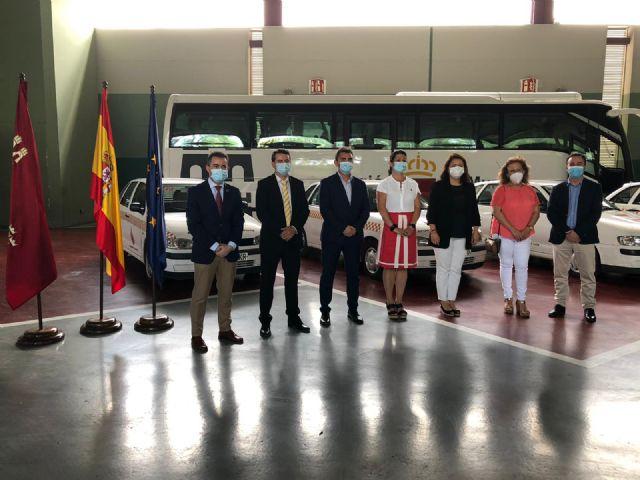 Las agrupaciones de voluntarios de Protección Civil de Albudeite, Lorquí, Aledo y Ojós contarán con nuevos vehículos cedidos por la Comunidad - 1, Foto 1