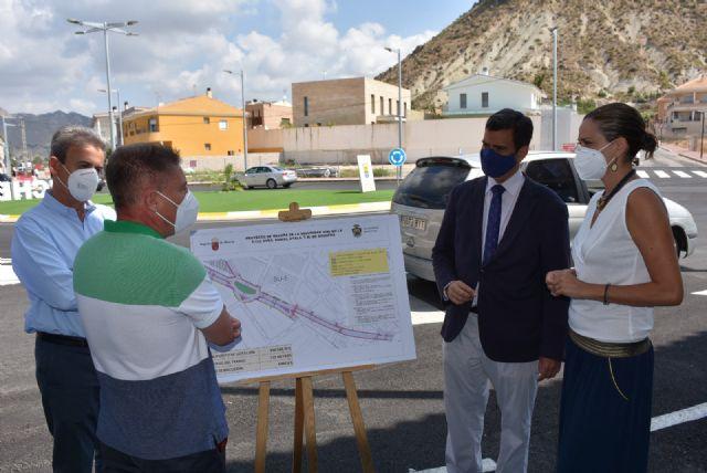 Consejero de Fomento y Alcaldesa inauguran las obras de mejora y redonda de la avenida Daniel Ayala - 1, Foto 1
