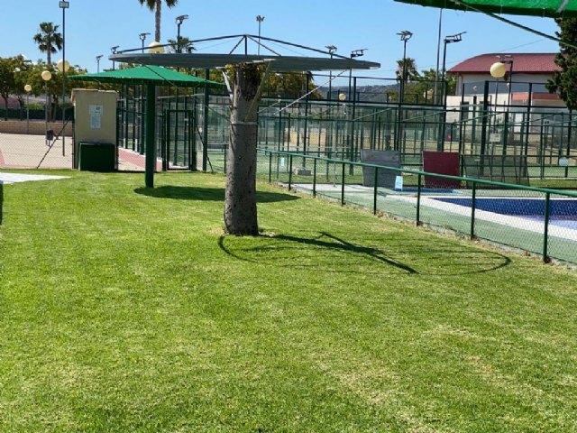Visita del Alcalde a las instalaciones de la piscina de verano de Mula - 2, Foto 2