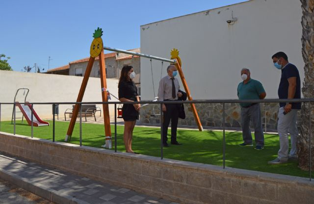 El jardín del barrio de La Condomina ya disfruta de un espacio mejorado - 1, Foto 1